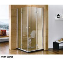 Salle de douche en acier suspendue de charnière de rouleau Wtm-03D26