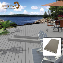 WPC Plastic Decking /Coastal Beach Woode Flooring