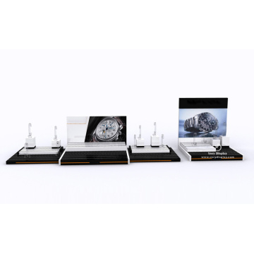 Acrylic watch counter display stand