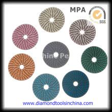 Diamond Concrete Polishing Pad para suelos de granito de mármol