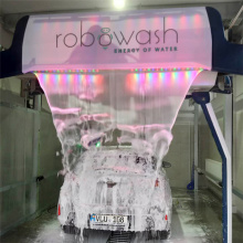 Automatic leisuwash touchless car wash machine
