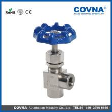 Aço inoxidável 304/316 válvula de agulha de carburador Válvula de agulha de agulha de gás de válvula de agulha fabricado na China