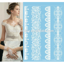white lace hands temporary tattoo sticker long lasting temporary tattoo j012