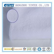 Weiße Decke Stoff für Bett