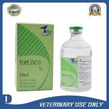 Medicamentos Veterinários de Injecção de Cloridrato de Lincomicina a 11% (100ml)