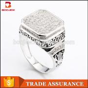 Alibaba fashion accessories jewellery white zircon 925 silver rings dubai white gold costume jewelry