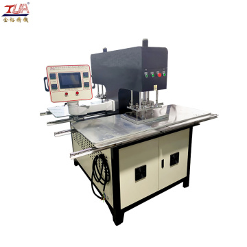 Polychrome multi-color trademark embossing machine