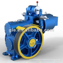 High performance worm gear motor for elevator