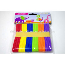handmade rainbow colorful Colour Wooden ice cream sticks