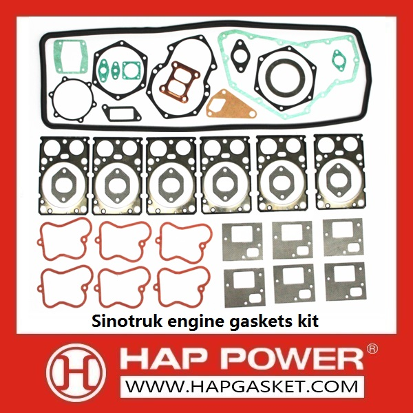 HAP-HD-018 Sinotruk engine gaskets kit