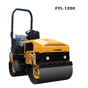 32.7HP Hydraulic Vibratory Roller Compactor Machine With CVT