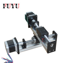 Precision xy table linear guide for ball screw