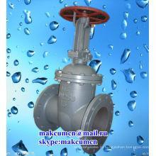 Украина Z41H-16C русский стандарт ГОСТ PN50-PN200 Нержавеющая сталь Нефтяной трубопровод Задвижка