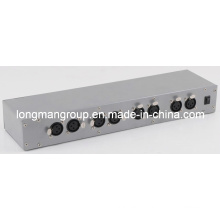 Sistema de controle DMX da luz da fase do diodo emissor de luz (ArtNet Hub 8S-1024)