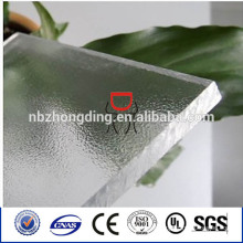 sun sheet & PC embossed sheet frosted polycarbonate sheet