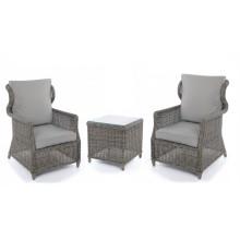 Set de Patio de sillas de jardín mimbre mimbre al aire libre ocio