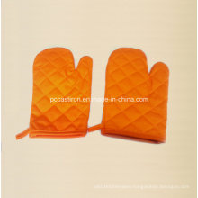 Heat Resisted Cotton Oven Mitts