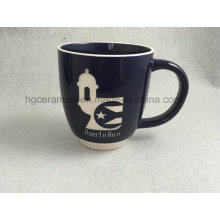 Caneca do Sandblast, caneca gravada, caneca cerâmica com logotipo gravado
