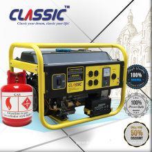 CLASSIC CHINA 2kw Portable CE LPG Gas Generator Price, Easy Move 2kw Gas Generator