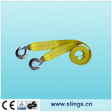 Winch Straps with Chain Hook
