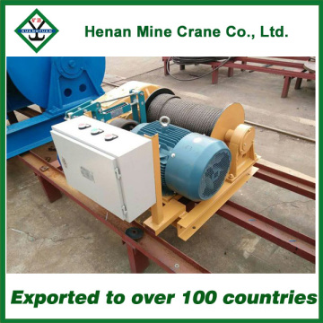 Fast Speed Wire Rope Mine Electric Winch