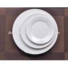 Nuevo plato de la cena de la porcelana del hueso China fijado
