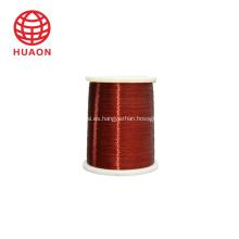 Bobinado de alambre de cobre esmaltado clase 200.