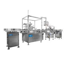 Automatic peristaltic pump pneumatic vial bottle 30ml 60ml  filing machine