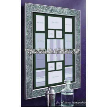 Collage wooden photo frames
