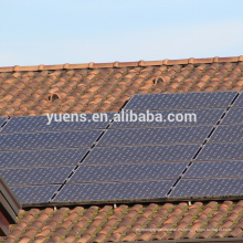 China Fabricación de sistema de montaje de panel de techo de azulejo solar duradera