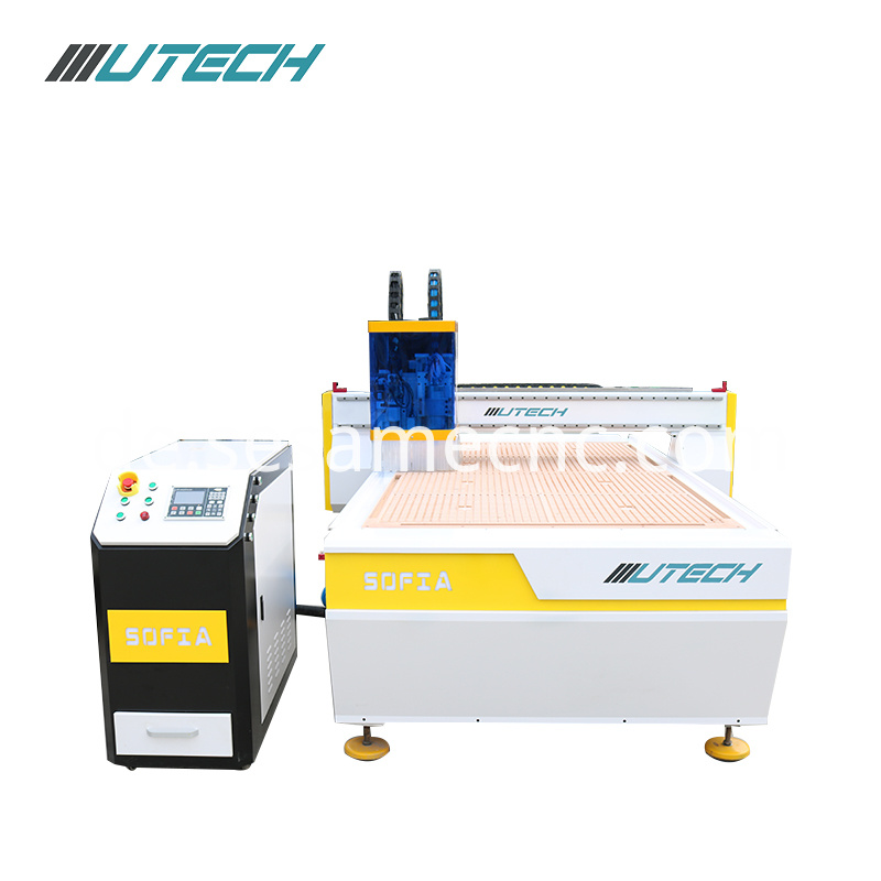 cnc router with oscillating knife