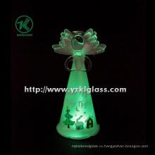 Холдинг цветок стеклянный угол для домашнего украшения Bybv. SGS (7 * 8,5 * 17)