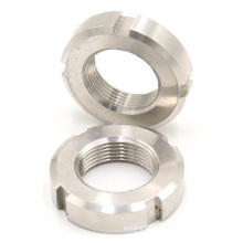 DIN standard antirust stainless steel round slotted baring lock nuts