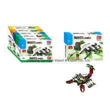 Boutique Block Block Toy pour DIY Insect World-Beetles