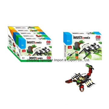 Boutique Building Block Toy for DIY Insect World-Beetles