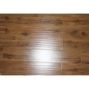 Materiales personalizados de alta densidad 800 g / cm3, AC2, AC3, AC4, V-Goove, pintado, piso laminado raspado a mano 8 mm