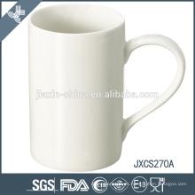 Taza de café de la porcelana del diseño de X mas, taza de porcelana blanca estupenda