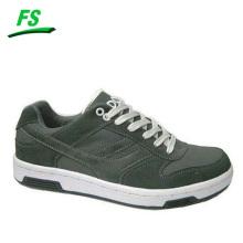 custom design dark grey sneakers for men