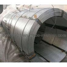 Hilo galvanizado para troncos, Soporte para hilos de acero galvanizado