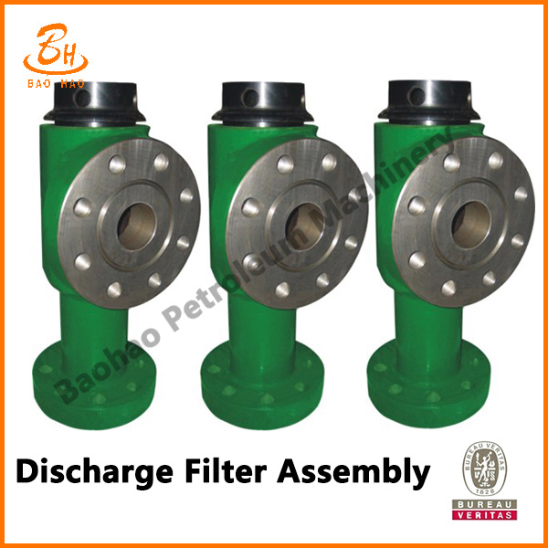 Discharge Filter Assembly
