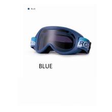Rockbros Ski Glasses Windproof Blue Color Anti-Fog Goggles Children Glasses