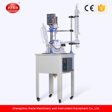 50L Single Layer Distillation Glass Reactor