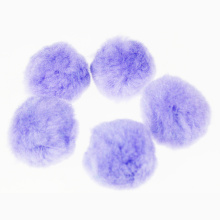 Jumbo Acrylic Pompom ball purple assorted