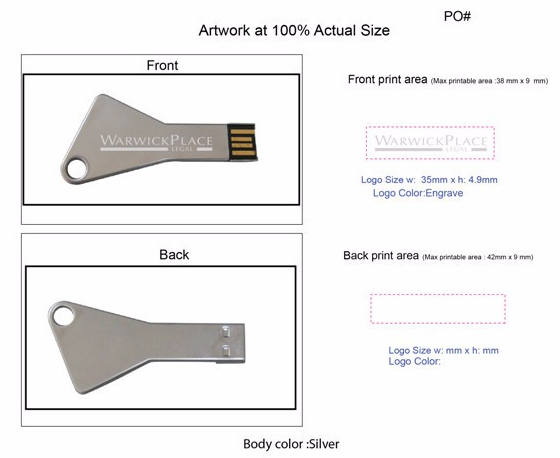 key usb stick