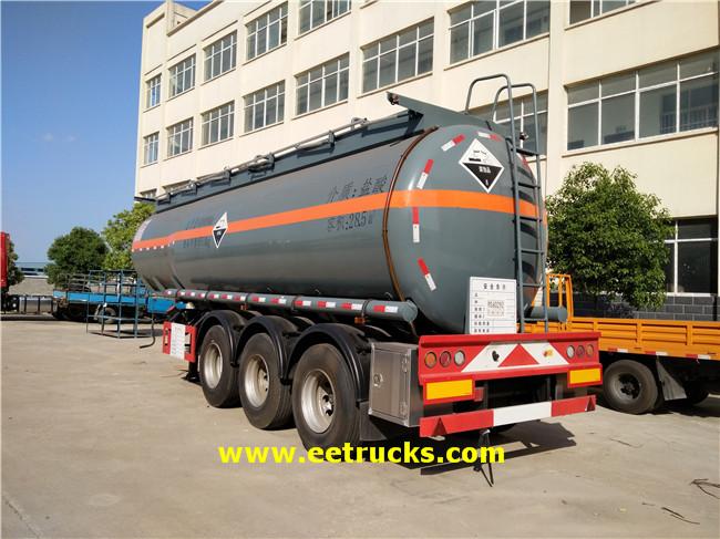 Hydrochloric Acid Trailer Tanker