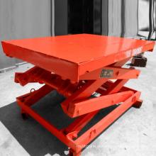 Elevador de tesoura automotor móvel com caixa de controle de plataforma removível