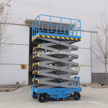 Plataforma móvel de levantamento de tesoura hidráulica e elevador de tesoura móvel