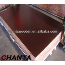 18mm impermeable marrón película enfrentada madera contrachapada marina
