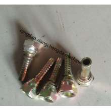Conector reto multiseal fêmea métrico hidráulico