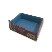 Toy display paper box